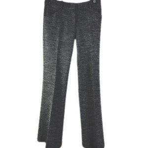 THEORY Pants grey tweed wool straight legs SIZE: 6